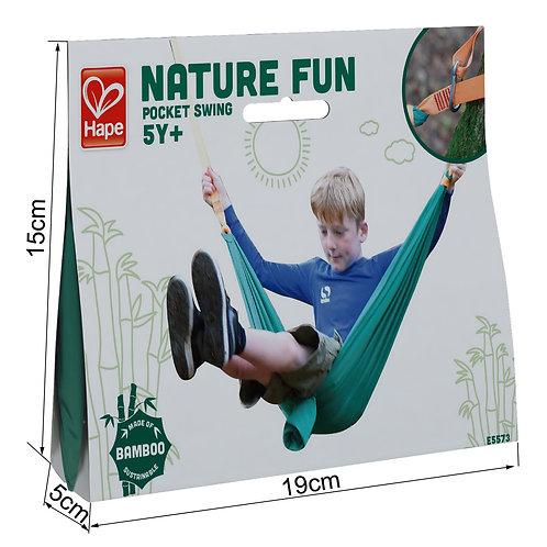 Hape Nature Fun Pocket Swing