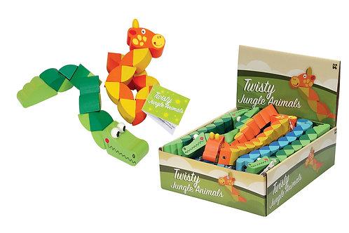 Twisty Wooden Animal