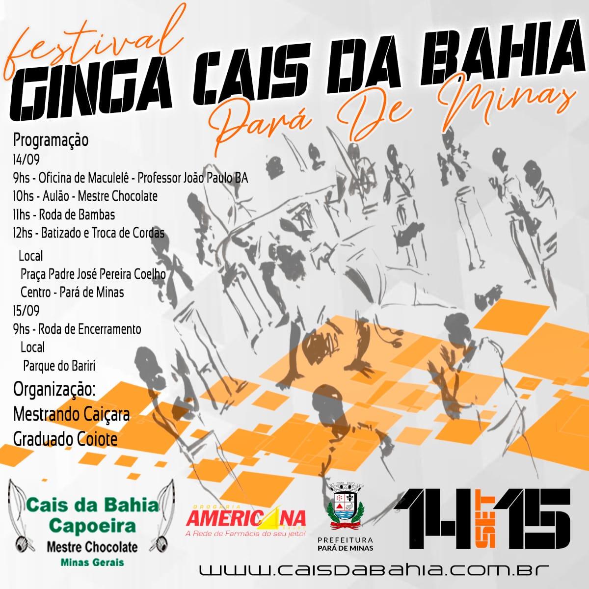 Festival Ginga Cais da Bahia 2019