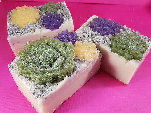 Soap from Scratch--Emerald Agave