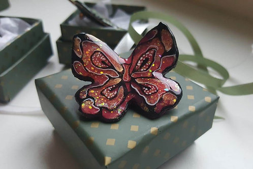 "Butterly brooch collection ""Summer Spirit"""