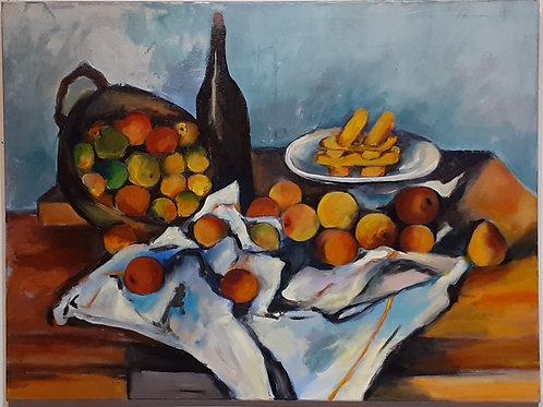 Still Life (copy P. Cezanne)