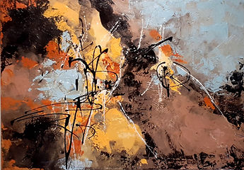 Abstraction Acrylic on canvas