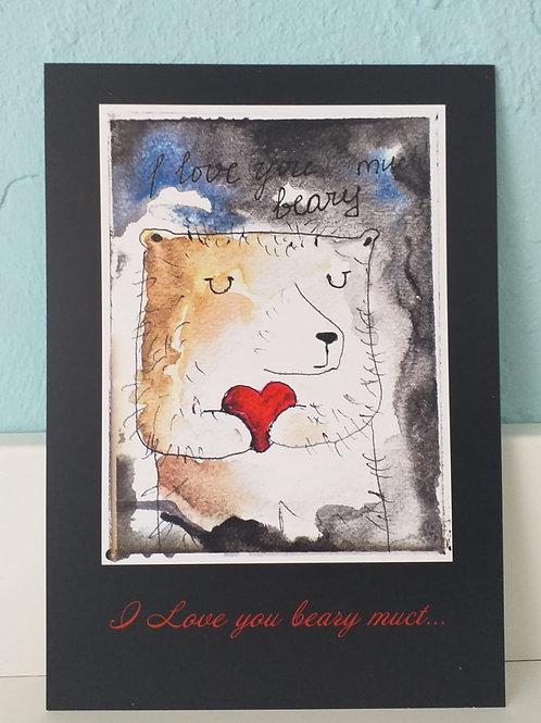 Handwritten Valentine's Day Card
