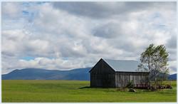 Barn near Franklin Falls