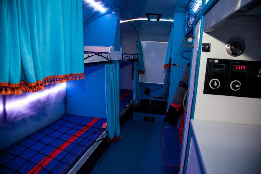 airstream bunk area