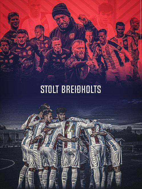 Stolt Breiðholts Plakat A2