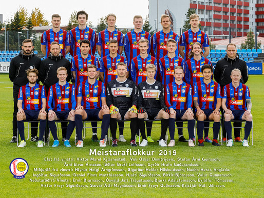 Liðsmyndin 2019