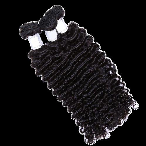 Deep Wave Virgin Hair - 3 Bundles