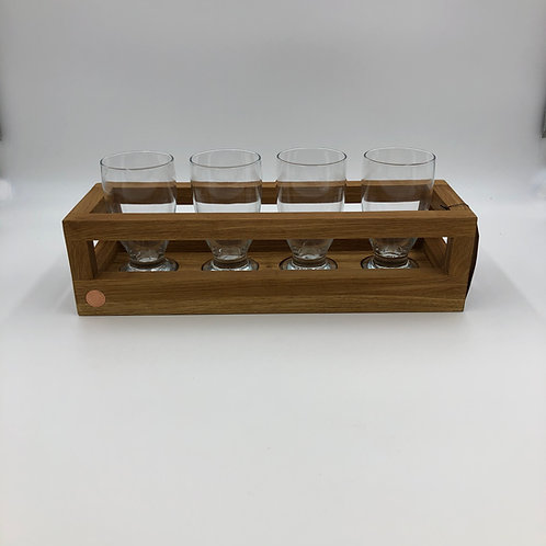Craft Beer Charger with Glasses