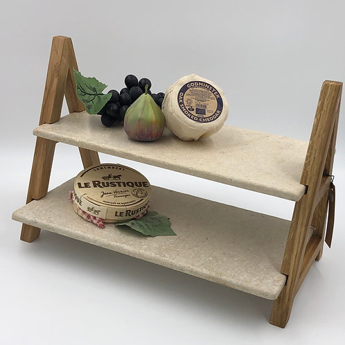 A-Frame Tiered Serving Board
