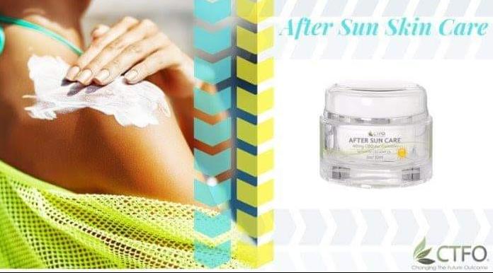 CTFO After Sun Skin Care Cream