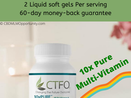Doctor Formulated 10x Pure Multi-Vitamin From CTFO