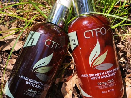 CTFO's CBD 4-Step System For Hair Growth