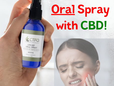 CTFO's Relief Oral Spray with CBD