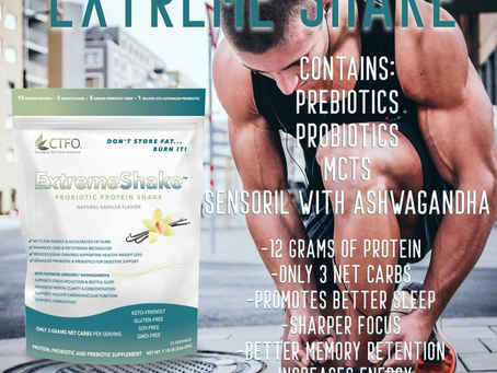 CTFO Extreme Shake™ Keto-Friendly With Ashwagandha
