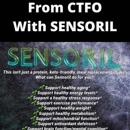 CTFO's Extreme Shake With Sensoril Ashwagandha