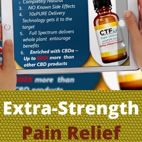 Extra-Strength Pain Relief CBD Oil