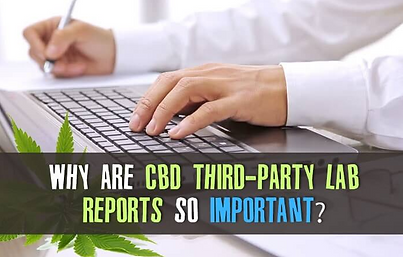 CBD Oil Third Party Lab Results