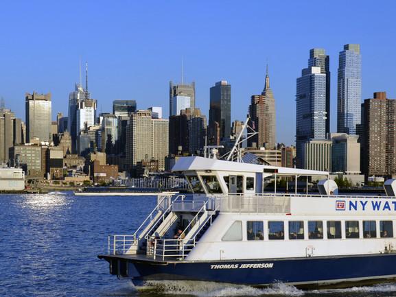 Ferries to Manhattan