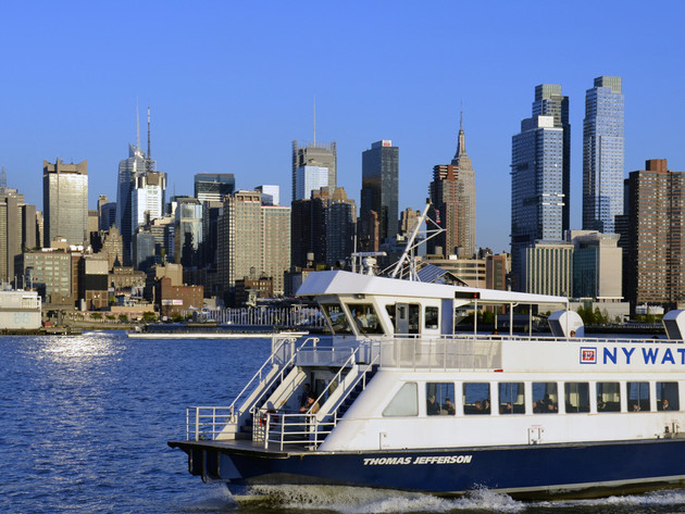 Ferries to Manhattan