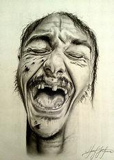 Fictional Self-Portrait (Signed, unframed)
