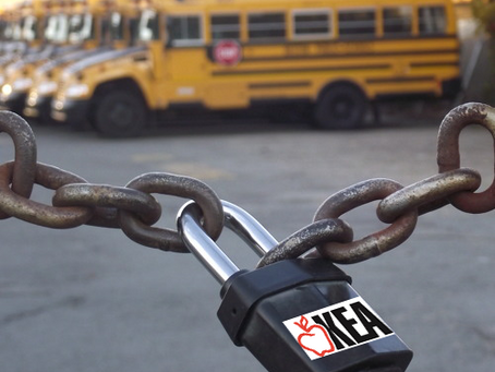 Who is more accountable - private schools or the teachers union?