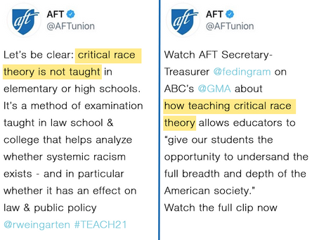 Fight Critical Race Theory with Instructional Transparency
