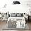 Thumbnail: iFam Shell Baby Room Grey (S)  貝殻圍欄 灰 (小)133x133x60cm