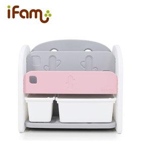 iFam Bookshelf Pink 書架收納組 粉紅 68x36x62.5cm