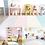 Thumbnail: iFam RUUN Playmat (M) Mint/Grey 灰綠遊戲地墊 (中)200x140x4cm