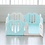 Thumbnail: iFam Sweetheart Baby Room Mint (S) 心心圍欄 粉綠(小) 148x148x61.4cm