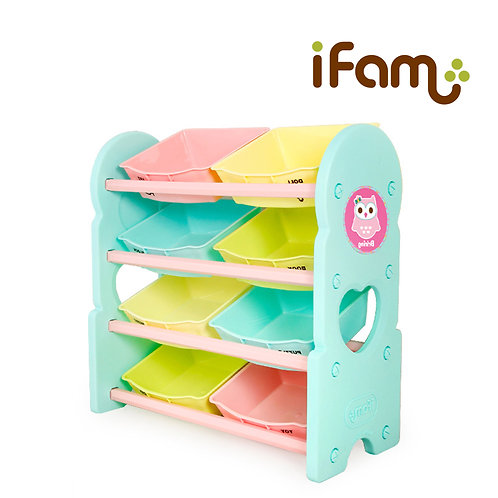 IFam Toy Cabinet - 4 Shelves - Mint