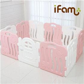 iFam Shell Baby Room Pink ( L) 貝殻圍欄 粉紅 (大) 198x133x60cm