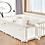 Thumbnail: 【Set】 iFam Birch Baby Room White+ Mat  【組合】 樺木圍欄啡  + 地墊 217x146x62.5cm