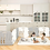 Thumbnail: iFam Shell Baby Room Grey  (XL)   貝殻圍欄 灰 (加大) 246x149x60cm