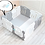 Thumbnail: 【Set】 iFam Shell Baby Room Grey (S) + Mat  【組合】 貝殻圍欄 灰 (小) + 地墊  133x133x60cm
