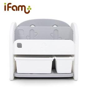 iFam Bookshelf White 書架收納組 白 68x36x62.5cm