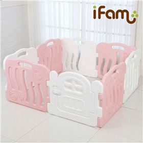 iFam Shell Baby Room Pink(S)貝殻圍欄 粉紅(小)133x133x60cm