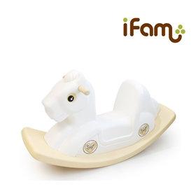 iFam Rocking Horse White 搖搖馬 白色 86x28x48cm