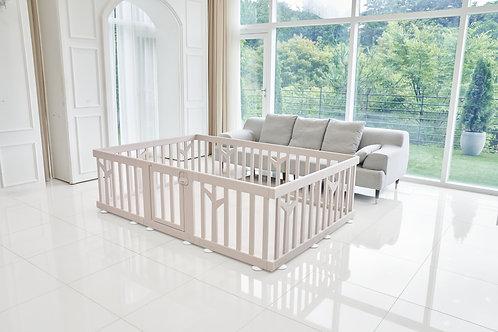 iFam Birch Baby Room Brown  樺木圍欄啡 217x146x62.5cm