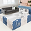 Thumbnail: iFam Shell Baby Room Blue  (L) 貝殻圍欄 藍 (大)198x133x60cm