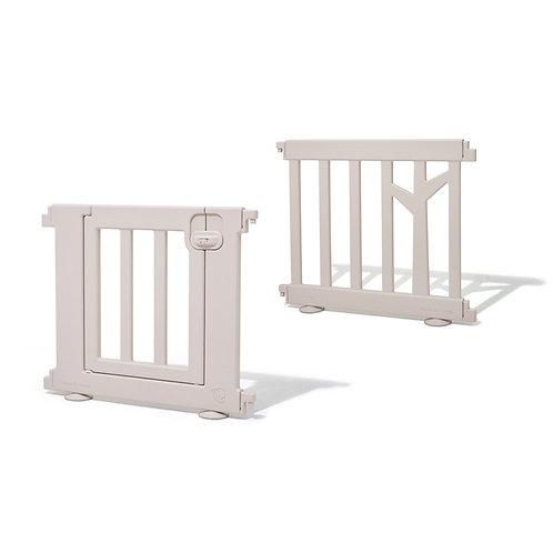 iFam Birch Baby Room Panels + Door Brown  樺木圍欄 延伸片+門 啡 73 x 62.5cm (2pcs