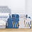 Thumbnail: iFam Shell Baby Room Blue (S)  貝殻圍欄 藍 (細)133x133x60cm