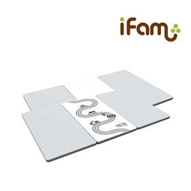 iFam RUUN Mono Grey S 3-fold Playmat 交通遊戲地墊  189x125x4cm