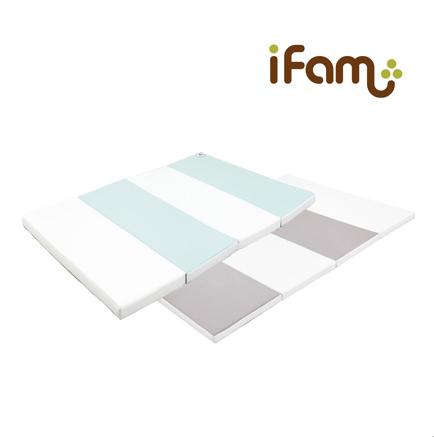 iFam RUUN Shell Playmat (L) Mint/Grey 灰綠遊戲地墊 (大)237x141x4cm