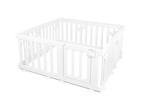 iFam Birch Baby Room White  樺木圍欄 白 146x146x62.5cm