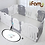Thumbnail: 【Set】 iFam Shell Baby Room Grey (XL) + Mat  【組合】 貝殻圍欄 灰 (加大) + 地墊  246x149x60cm