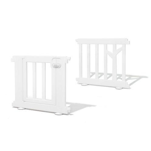 iFam Birch Baby Room Panels + Door White  樺木圍欄 延伸片+門 白 73 x 62.5cm (2pcs)