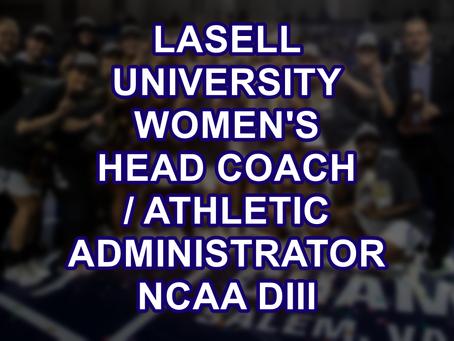 Head Women's Basketball Coach / Athletic Administrator, Lasell University, NCAA DIII